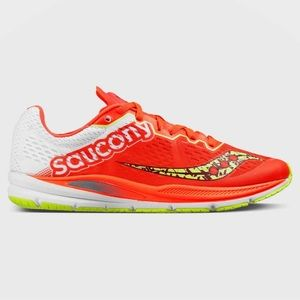 Saucony Racing Fastwitch Neon Orange Sneakers